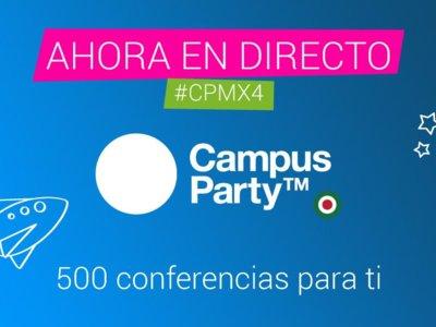 Disfruta esta semana de Campus Party México y Campus Party Brasil en simultánea por primera vez