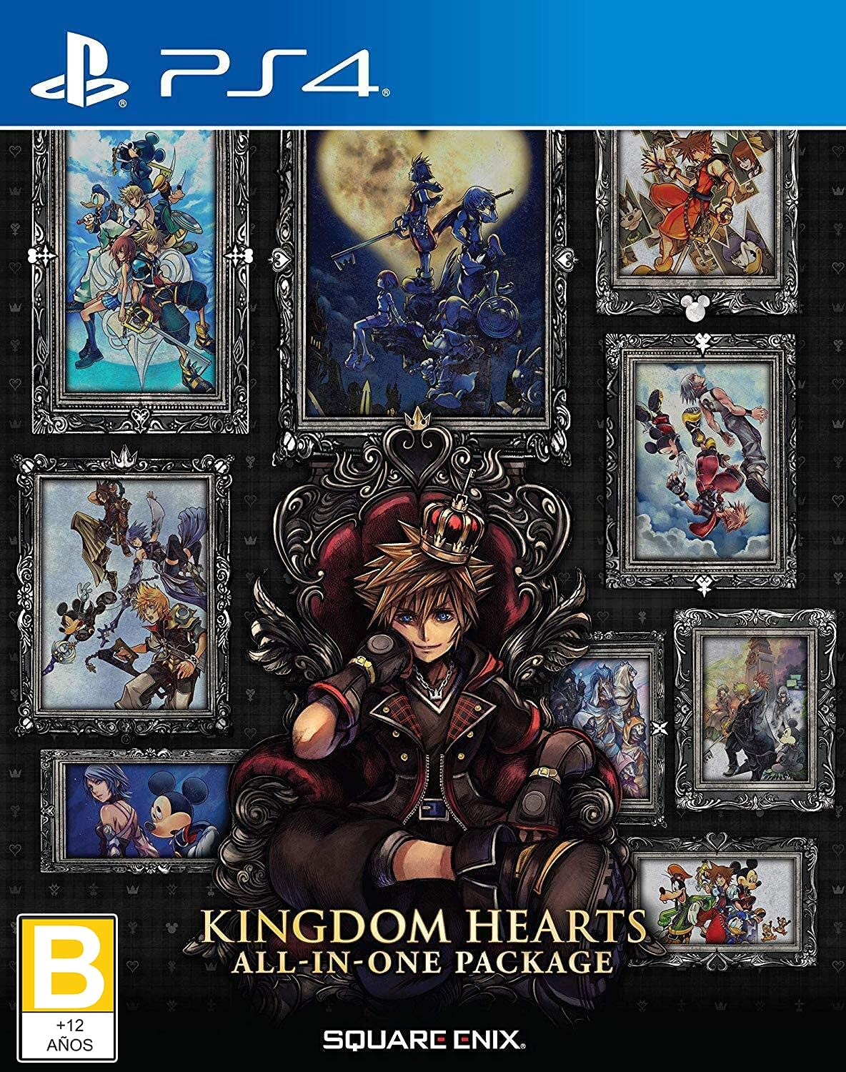 Kingdom Hearts: All-in-One Package - PS4