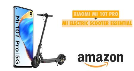 Amazon calienta motores para el Prime Day: compra el nuevo Xiaomi Mi 10T Pro y te llevas un patinete eléctrico gratis