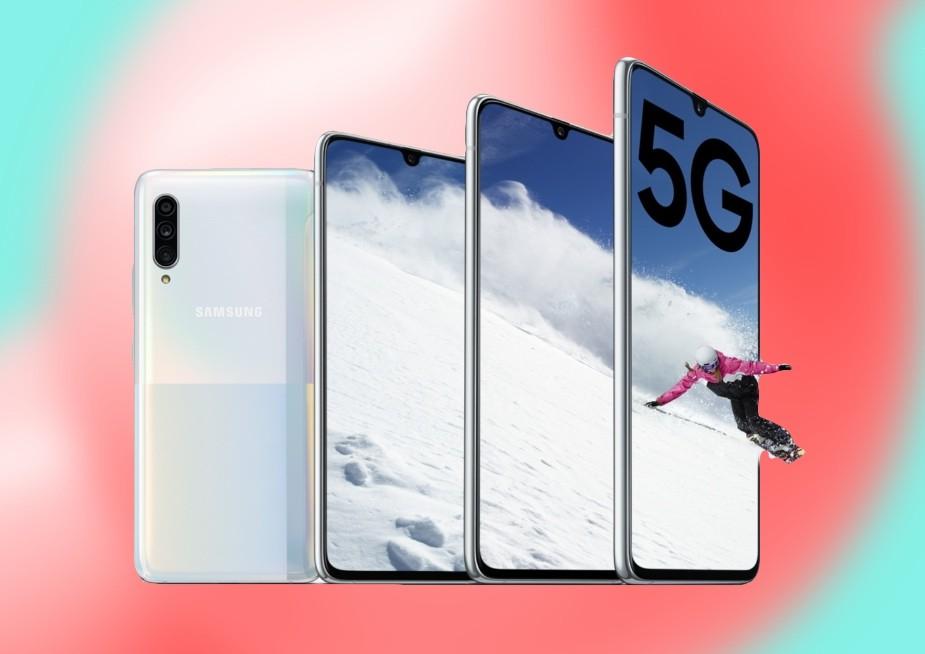 Samsung Galaxy A90 5G: el modelo más avanzado de la serie A apuesta por batería y velocidad para equipararse a la gama alta