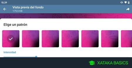 Cómo configurar un fondo de pantalla personalizado en tus chats de Telegram