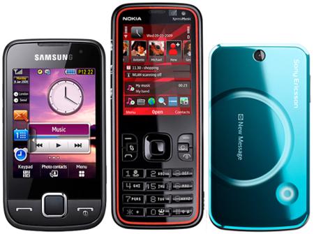 Novedades Movistar junio: Nokia 5630, Samsung S5600 y Sony-Ericsson T707