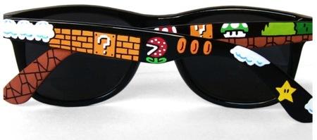 Gafas Wayfarer de Mario Bros
