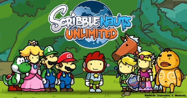 Scribblenauts Mario Zelda
