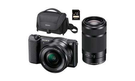 Ideal como regalo de San Valentín, este pack de MediaMarkt con la Sony Alpha 5100L tiene todo lo necesario para comenzar por 569 euros