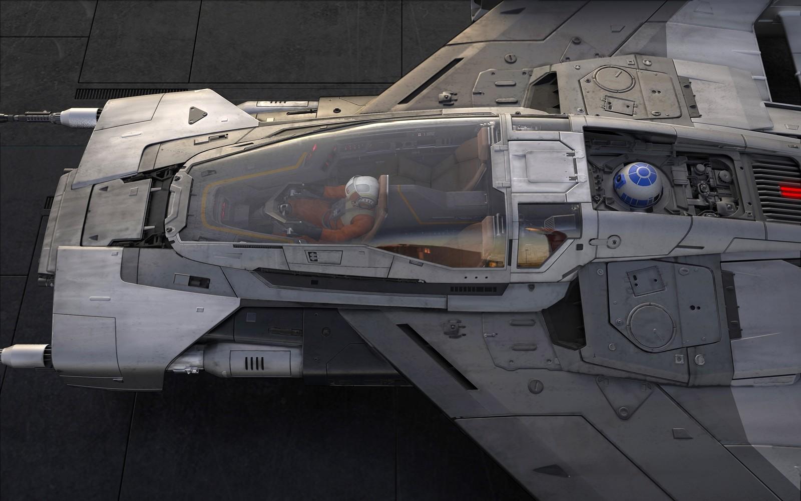 Foto de Porsche Tri-Wing S-91x Pegasus Starfighter (1/6)