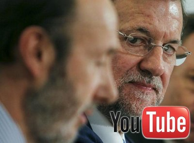 El debate de Rubalcaba y Rajoy se verá también en YouTube