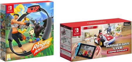 Ring Fit Adventure y Mario Kart Live: Home Circuit de oferta en Amazon México