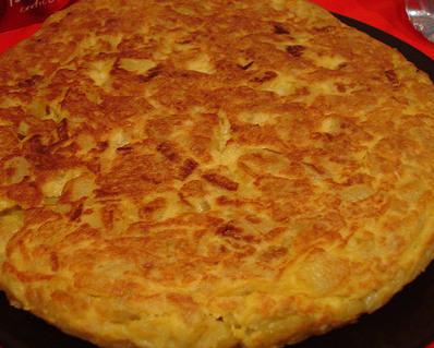 Tortilla de patatas dieta disociada