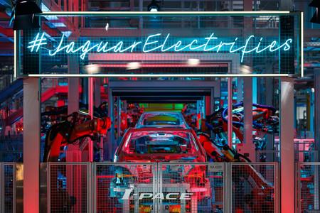 Jaguar I-PACE factory