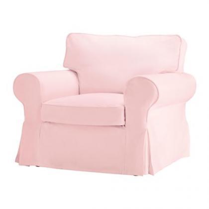 Fundas en rosa para tu sofá Ektorp