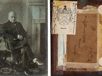 Después de más de 100 años sale a la luz el retrato más antiguo de un presidente de Estados Unidos