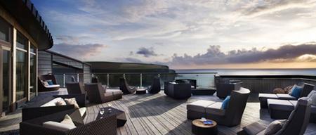 Hotel de Lujo en Cornwall, The Scarlet