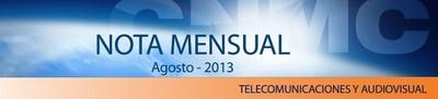Resultados CNMC agosto 2013: Movistar vuelve a ganar incluso en xDSL