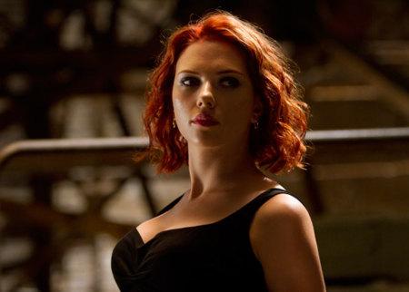 Scarlett Johansson en Los Vengadores: se lleva el look sexy y de superheroína