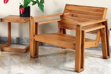Muebles en teca para exteriores de Maku