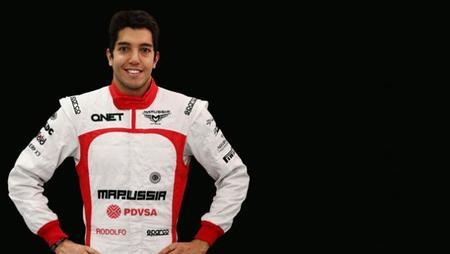 Rodolfo González será el tercer piloto de Marussia