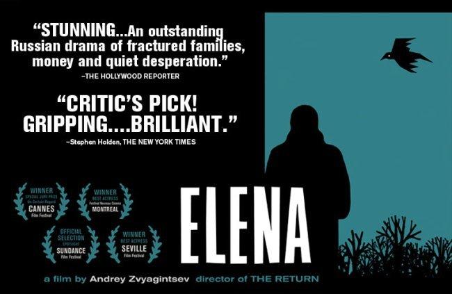 Un cartel de Elena