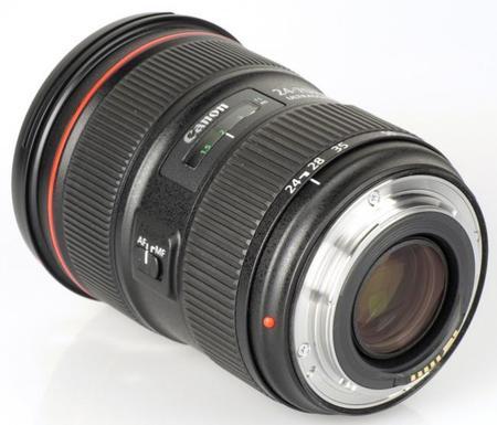 Posibles problemas con el anillo de enfoque de algunos objetivos Canon EF 24-70 mm f/2.8L II USM
