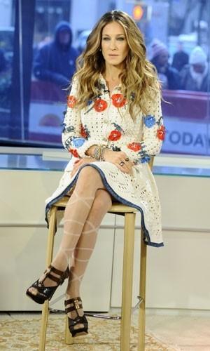 Sarah Jessica Parker de Chanel Primavera-Verano 2010: renace Carrie Bradshaw