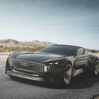 El Audi skysphere se adelanta al coche eléctrico deportivo: 632 CV, distancia entre ejes variable y conducción autónoma nivel 4
