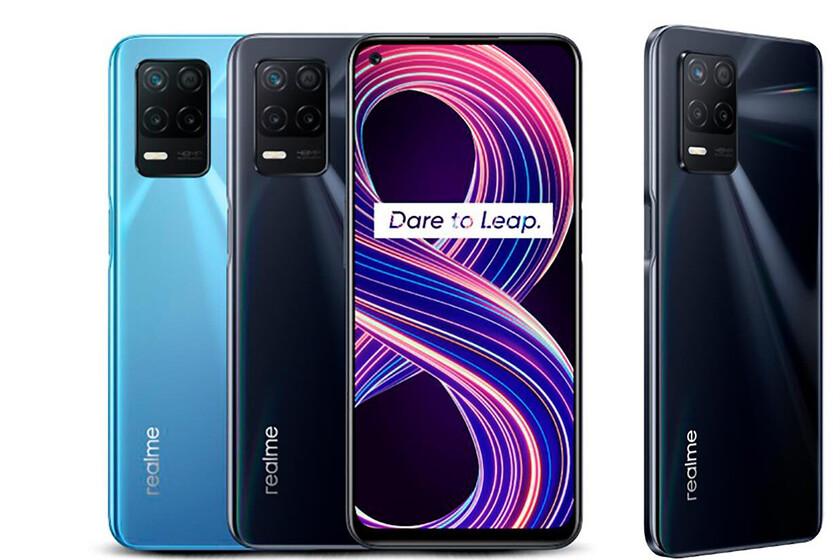 Realme 8 5G: la conectividad 5G llega de la mano de una pantalla de 90 Hz y una batería de 5.000 mah