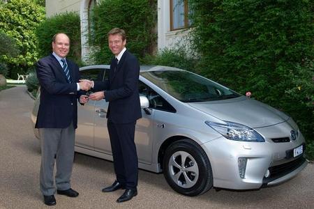 El primer Prius enchufable de producción en Europa es para Alberto II de Mónaco