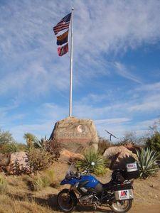 América en moto. Biosfera 2. El fracaso de la selva en el desierto