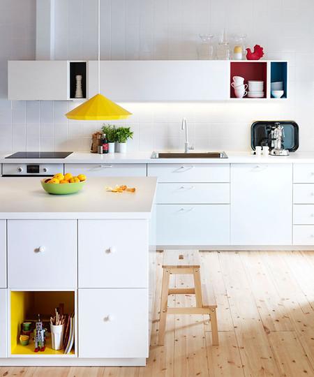 nuevas cocinas metod ikea armarios colores en decoesfera