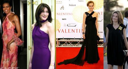 Las mejores vestidas segun Vanity Fair