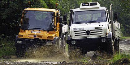 El Unimog es el Cross Country of the Year 2007