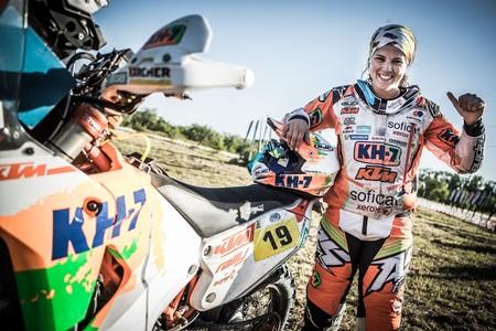 Laia Sanz Dakar 2017 2
