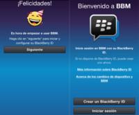 No todo está escrito en el BBM de iOS y Android