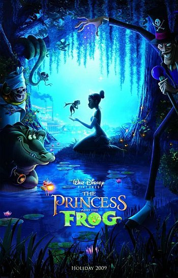 'Tiana y el sapo' ('The Princess and the Frog'), cartel y más imágenes