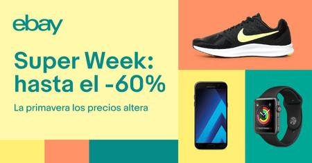 Super Week en eBay: las 14 mejores ofertas durante esta semana