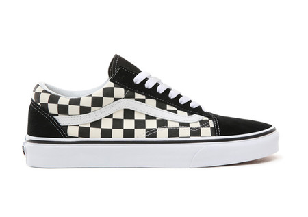 Zapatillas Casual De De Hombre Ua Old Skool Primary Check Vans