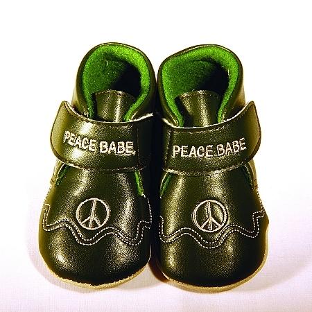 Zapatitos ecológicos para bebé
