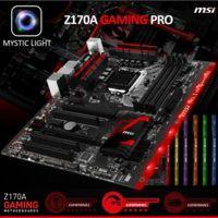 La iluminación RGB también llegará a Intel Skylake con motherboard MSI Z170A Gaming Pro