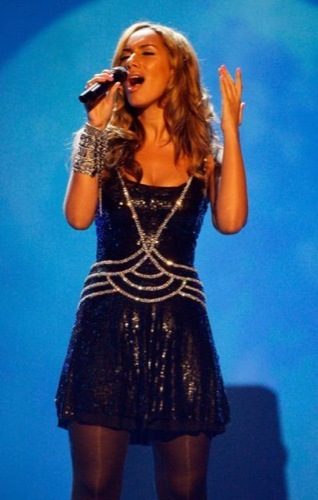 Lenola Lewis en los American Music Awards 2008