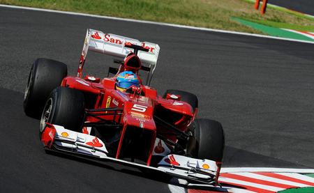 Fernando Alonso sale sexto tras una sesión alterada por una bandera amarilla
