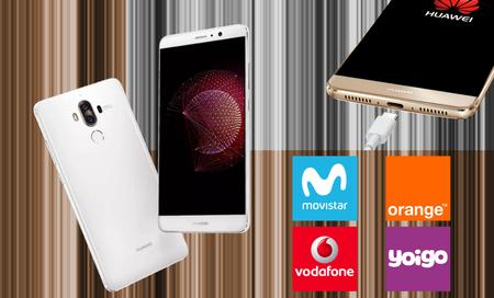 Huawei Mate 9 llega a Movistar, Vodafone, Orange y Yoigo: comparamos su precio definitivo con pago a plazos