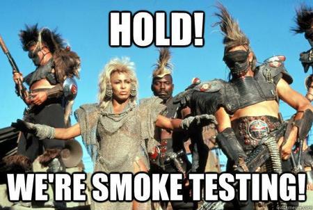 Smoke testing, integración continua desde cero y PFCs sobre seguridad: Pull Request #11