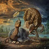 Este nuevo dinosaurio hacía nidos mayores que un neumático de camión