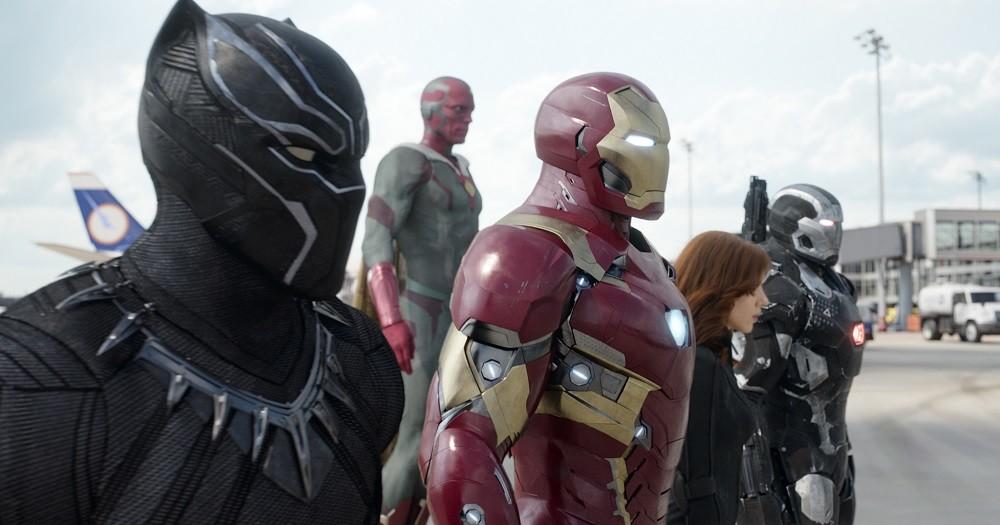 Capitan America Civil War Bando Iron Man