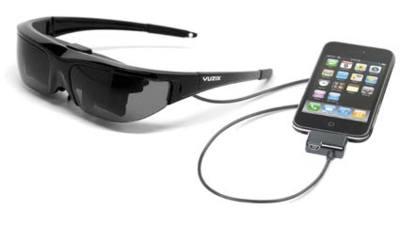 Vuzix iWear Wrap 310, gafas que emulan una pantalla de 55 pulgadas