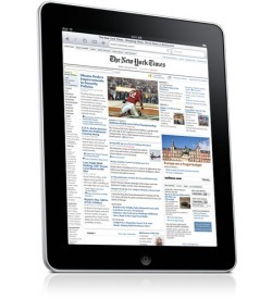Wired, New York Times y sus planes para el iPad