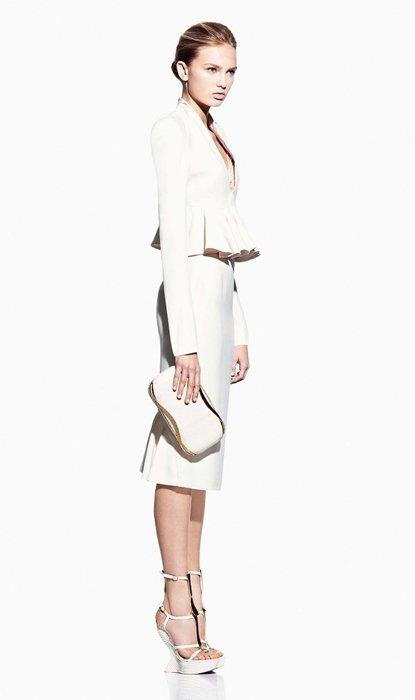 Conjunto Alexander McQueen lookbook Primavera-Verano 2012