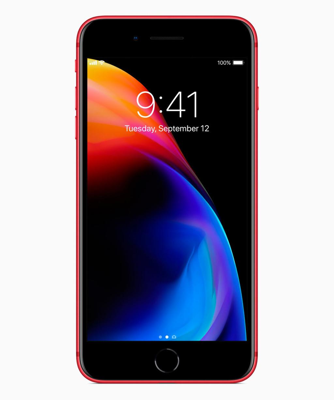 Iphone ocho Red
