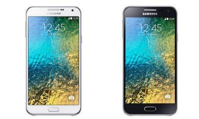 Galaxy E5 y Galaxy E7, los nuevos gama media de Samsung
