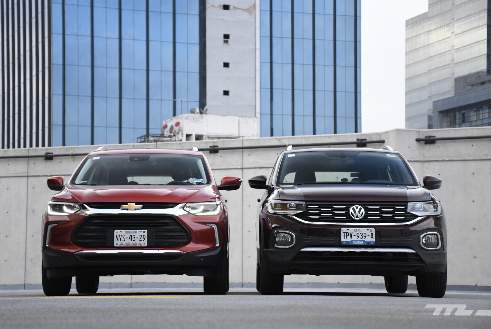 Foto de Chevrolet Tracker vs. Volkswagen T-Cross (comparativa) (10/29)